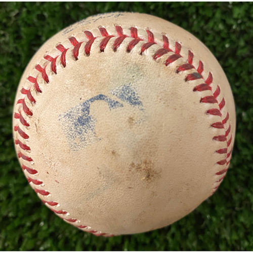 Photo of Trevor Bauer Strikeout Pitch of Ronald Acuna, Jr. June 6, 2021 - Also pitched to Freddie Freeman and Ozzie Albies