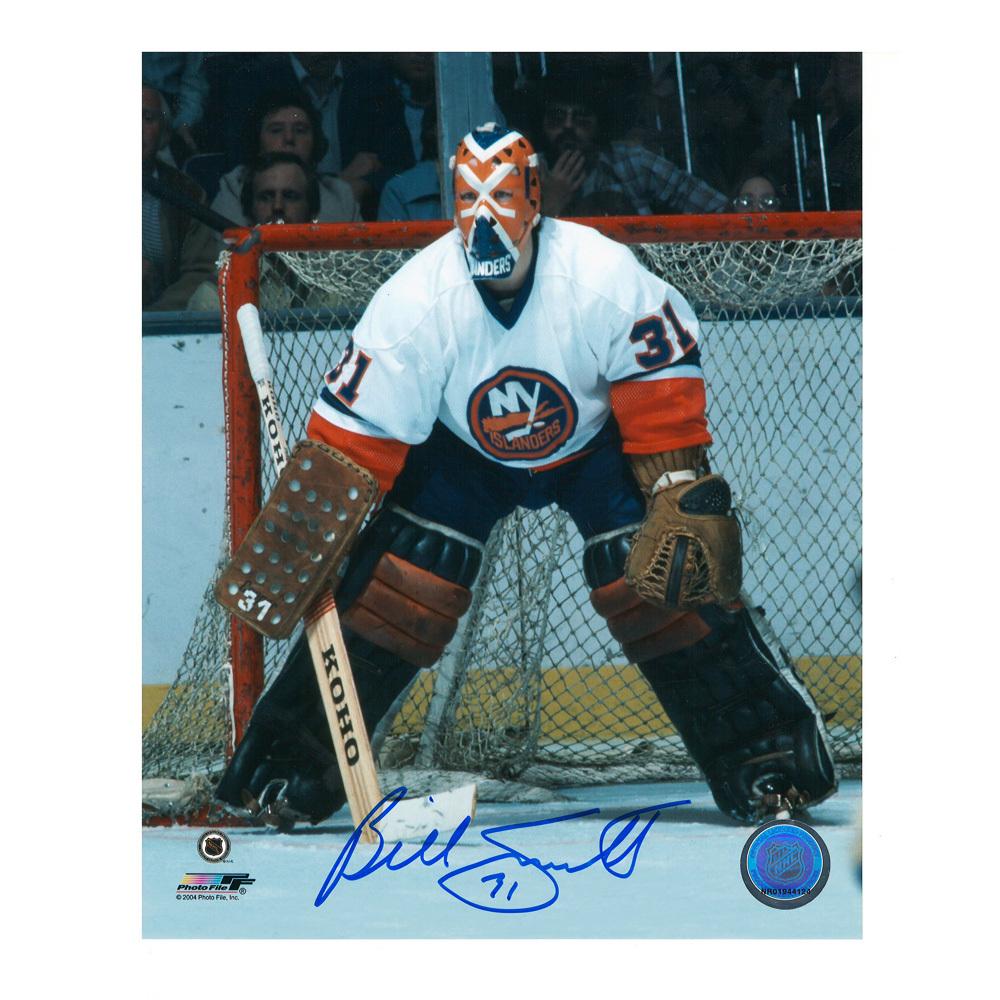 BILLY SMITH Signed New York Islanders 8 X 10 Photo - 70464