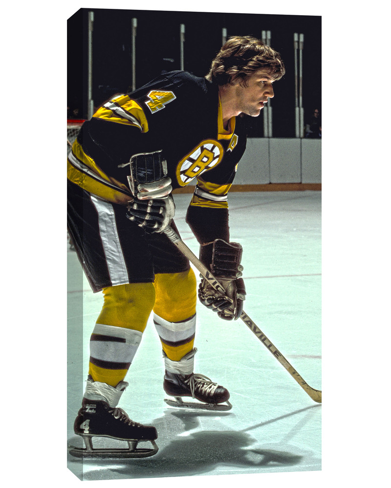 Bobby Orr - 14x28 Canvas - Boston Bruins