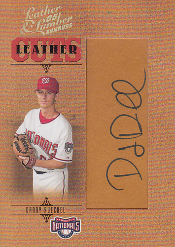 Photo of 2005 Leather and Lumber #157 Danny Rueckel AU RC