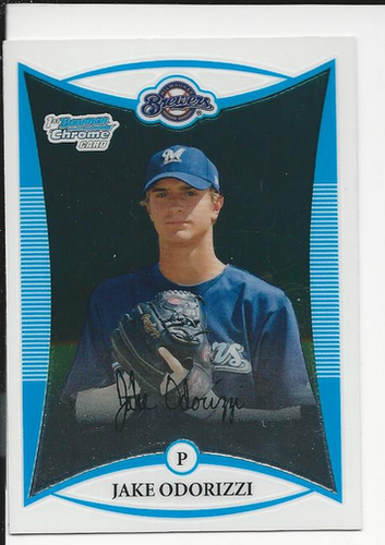Photo of 2008 Bowman Chrome Draft Prospects #BDPP51 Jake Odorizzi Pre-Rookie Card