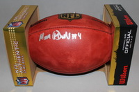 NFL - SEAHAWKS MALIK MCDOWELL SIGNED AUTHENTIC FOOTBALL