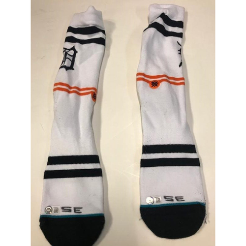 Team-Issued Justin Verlander Socks