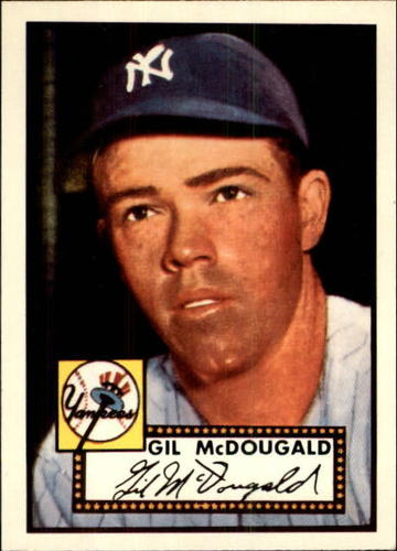 Photo of 1983 Topps 1952 Reprint #372 Gil McDougald