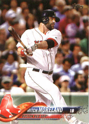 Photo of 2018 Topps #104 Mitch Moreland