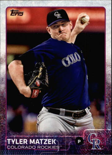Photo of 2015 Topps #442 Tyler Matzek