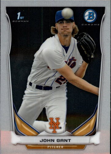 Photo of 2014 Bowman Chrome Prospects #BCP74 John Gant