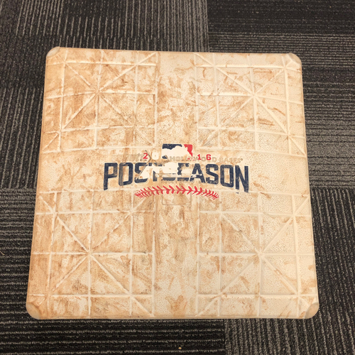 Photo of San Francisco Giants - 2016 NLDS Game 3 Game Used Base - 3rd Base innings 4-6 - 10/10/16 vs CHC