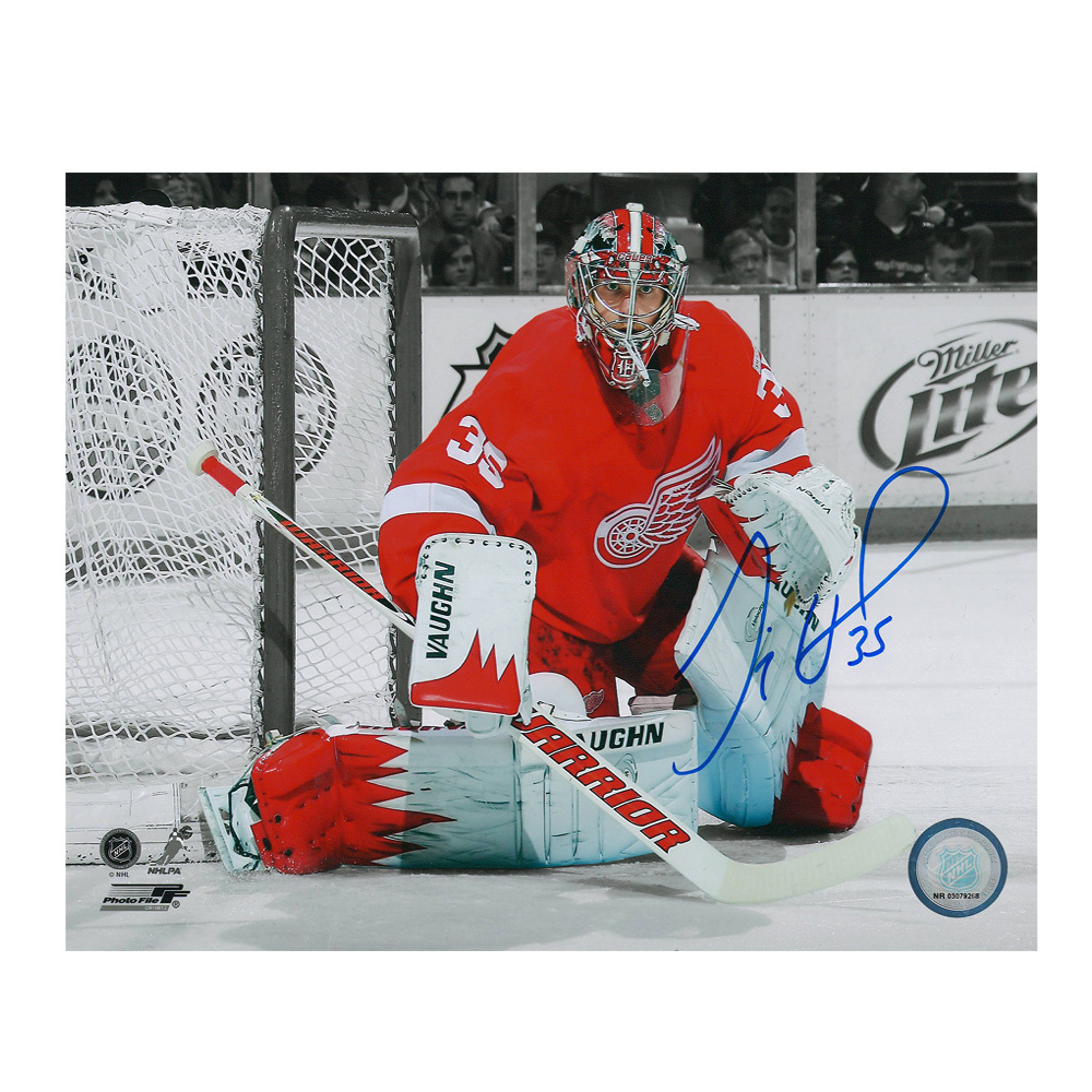 JIMMY HOWARD Signed Detroit Red Wings 8 X 10 Photo - 70446