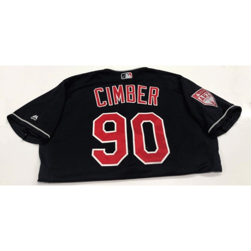 Photo of Adam Cimber Game-Used 2019 Spring Training Jersey