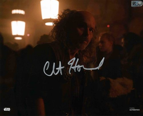 Clint Howard As Ralakili 8X10 AUTOGRAPHED IN 'SILVER' INK PHOTO