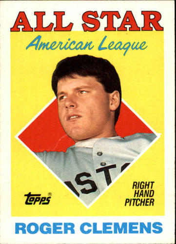 Photo of 1988 Topps #394 Roger Clemens AS