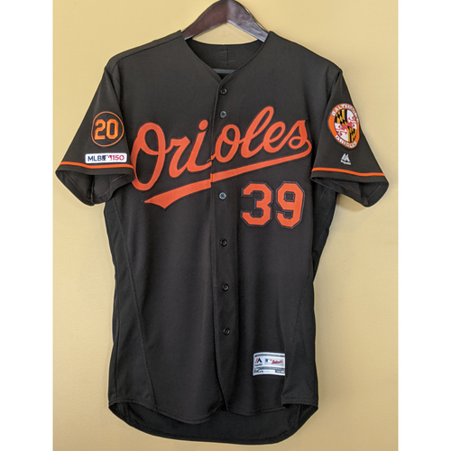 Photo of Renato Nunez - Black Alternate Jersey: Game-Used (3-Run HR)
