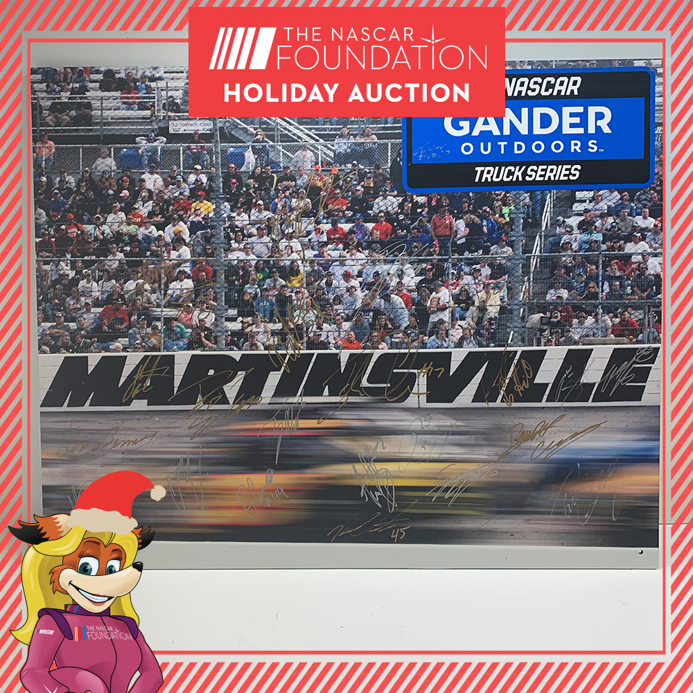 Gander Outdoors Truck Series Autographed Poster Board!