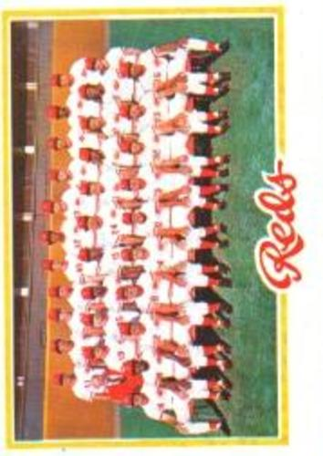 Photo of 1978 Topps #526 Cincinnati Reds CL