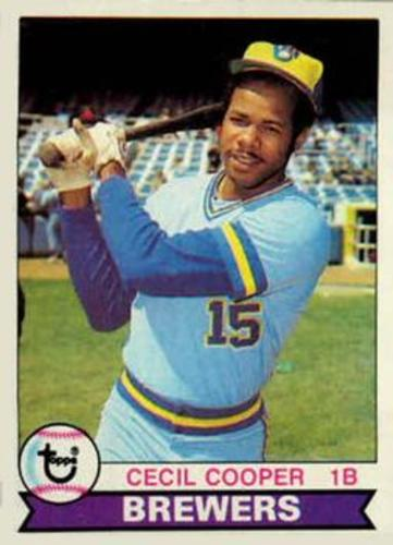 Photo of 1979 Topps #325 Cecil Cooper