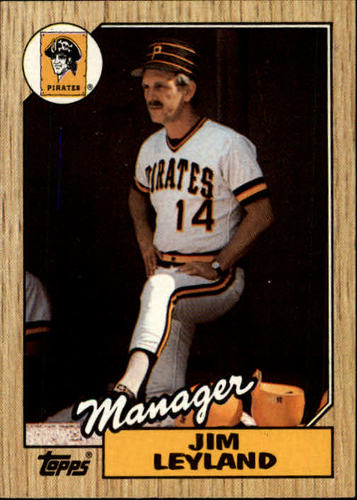 Photo of 1987 Topps #93 Jim Leyland MG/TC  RC *