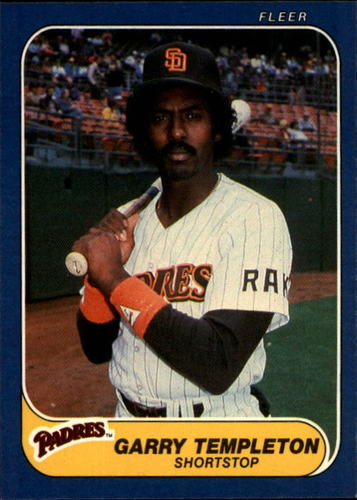 Photo of 1986 Fleer #336 Garry Templeton