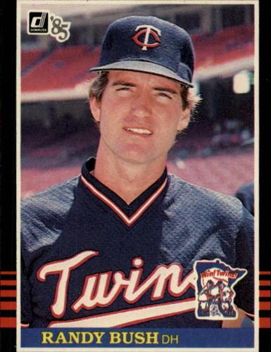 Photo of 1985 Donruss #633 Randy Bush