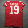 Crucial Catch - 49ers Deebo Samuel Game Used Jersey (10/7/19) Size 40