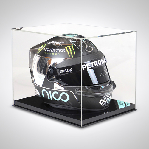 Photo of Nico Rosberg 2016 1:1 Signed Replica Helmet