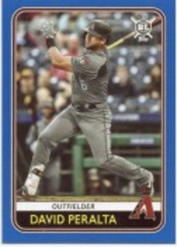Photo of 2020 Topps Big League Blue #136 David Peralta