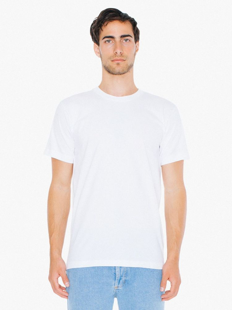 Photo of American Apparel Adult Fine Jersey V-Neck