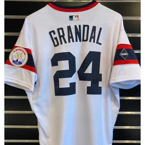 Photo of Yasmani Grandal 2020 Team Issued Throwback Jersey - Size 44