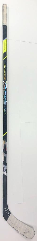 #21 Jason Robertson Game Used Stick - Autographed - Dallas Stars