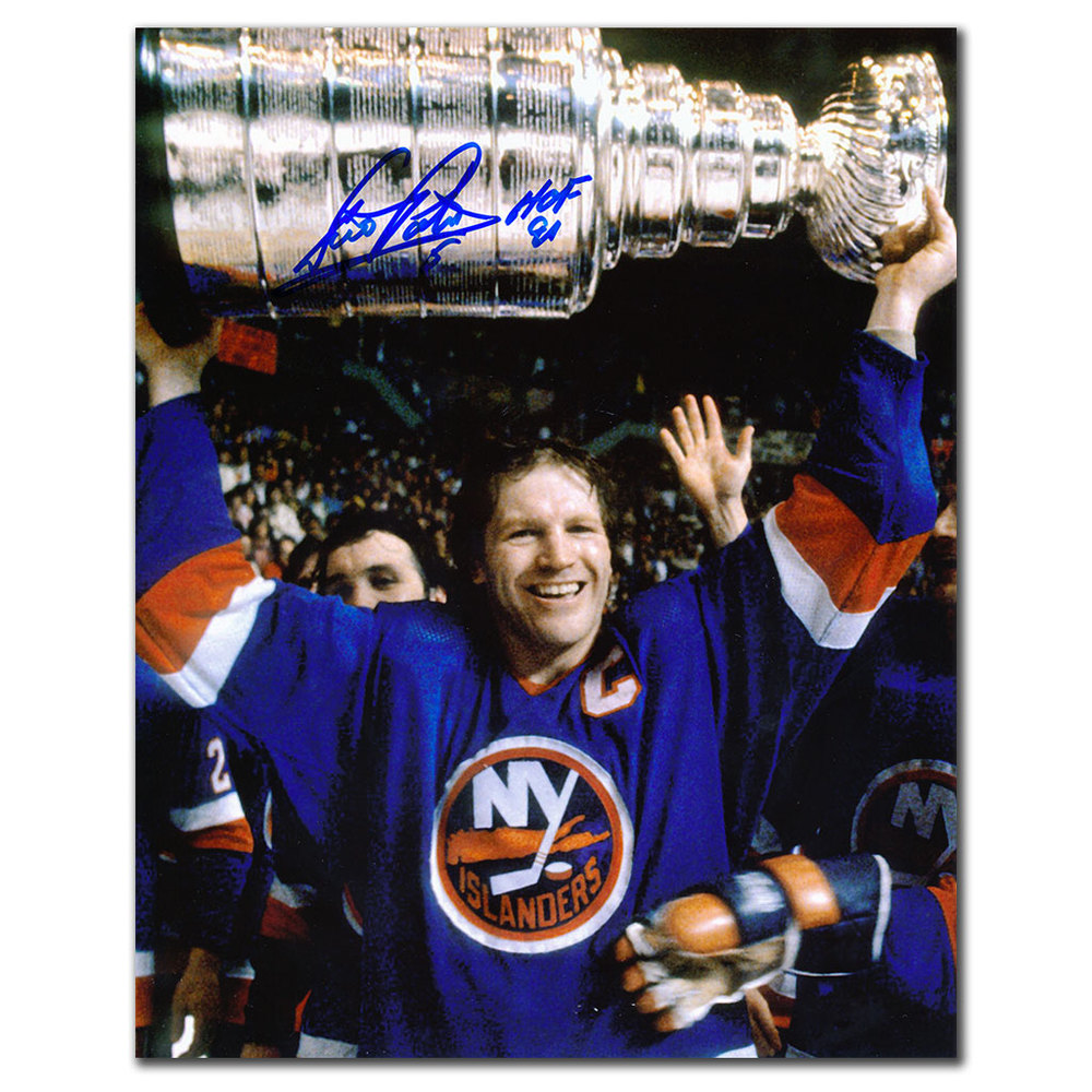 Denis Potvin New York Islanders 1982 STANLEY CUP Autographed 8x10