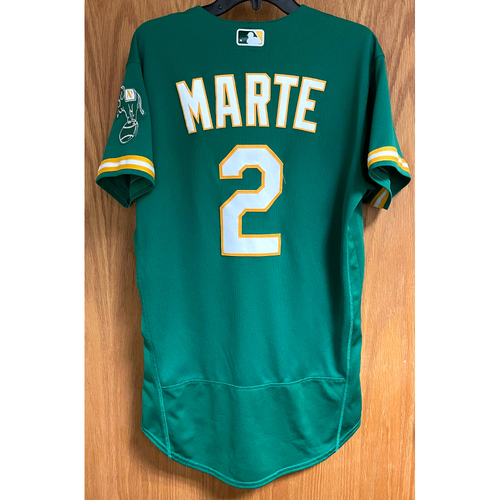 Photo of Game-Used Jersey - Starling Marte (Authenticated for 8 games; HR #8, 9 & 10)