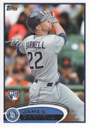 Photo of 2012 Topps #553 James Darnell RC