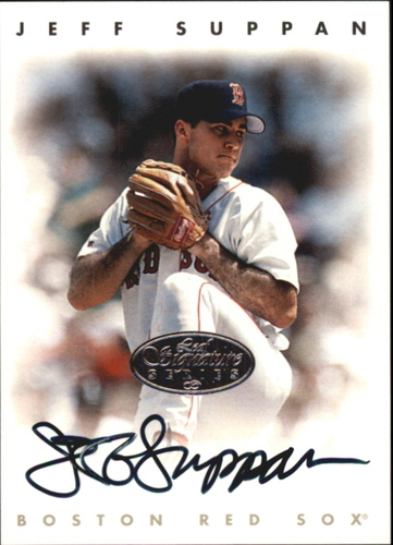 Photo of 1996 Leaf Signature Autographs Silver #216 Jeff Suppan