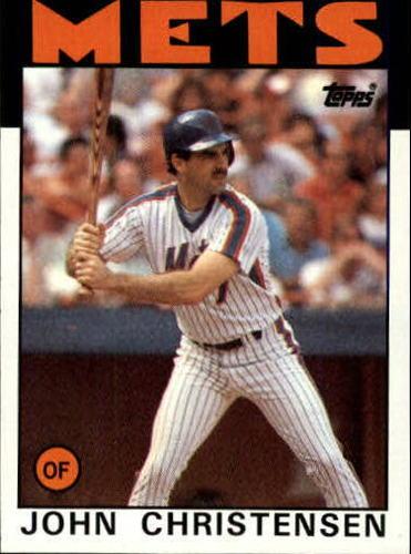 Photo of 1986 Topps #287 John Christensen