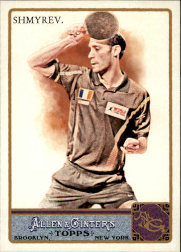 Photo of 2011 Topps Allen and Ginter #72 Maxim Shmyrev