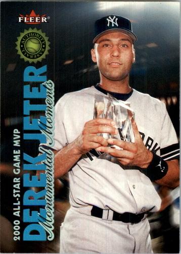 Photo of 2001 Fleer Authority #MM4 Derek Jeter MM/2000