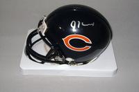 NFL - BEARS JORDAN HOWARD SIGNED BEARS MINI HELMET