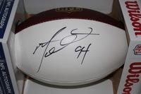 NFL - BILLS MARIO WILLIAMS SIGNED PANEL  BALL