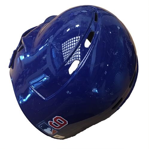 Javier Baez Team-Issued Cracked Batting Helmet -- Size 7 1/4 -- Diamondbacks vs. Cubs -- 8/3/17