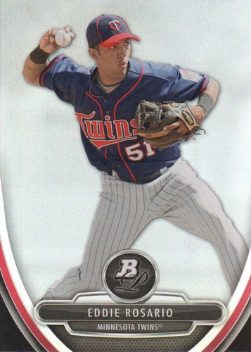 Photo of 2013 Bowman Platinum Prospects #BPP56 Eddie Rosario  Pre-Rookie Card
