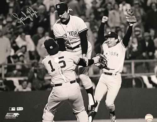 Photo of Sparky Lyle Autographed 16x20 Photo (Celebration)
