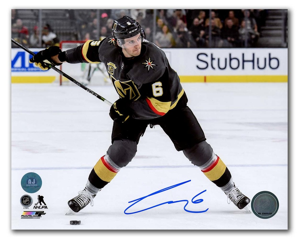 Colin Miller Vegas Golden Knights Autographed 8x10 Photo
