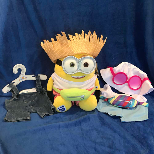 UMPS CARE AUCTION: Build-A-Bear Workshop ® Stuffed Minion With Outfits