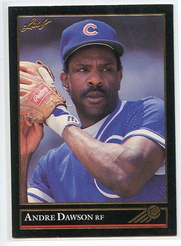 Photo of 1992 Leaf Black Gold #183 Andre Dawson