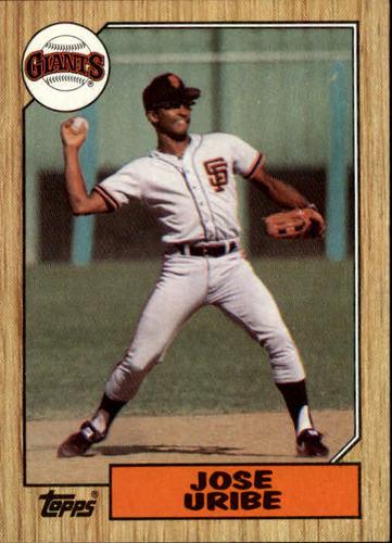 Photo of 1987 Topps #633 Jose Uribe