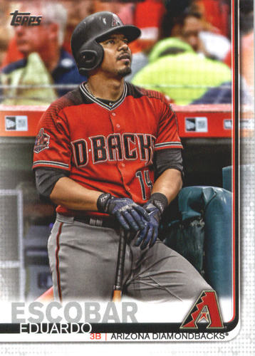 Photo of 2019 Topps #570 Eduardo Escobar