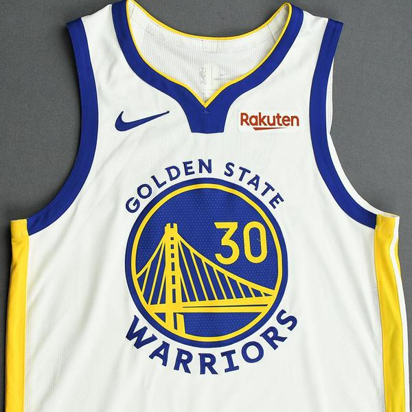 Stephen Curry - Golden State Warriors - Game-Worn Association Edition Jersey - 2019-20 NBA ...