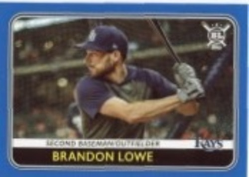 Photo of 2020 Topps Big League Blue #157 Brandon Lowe