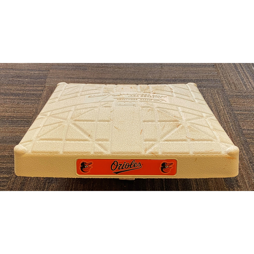 Game-Used 3rd Base - Tampa Bay Rays at Baltimore Orioles (9/20/2020)