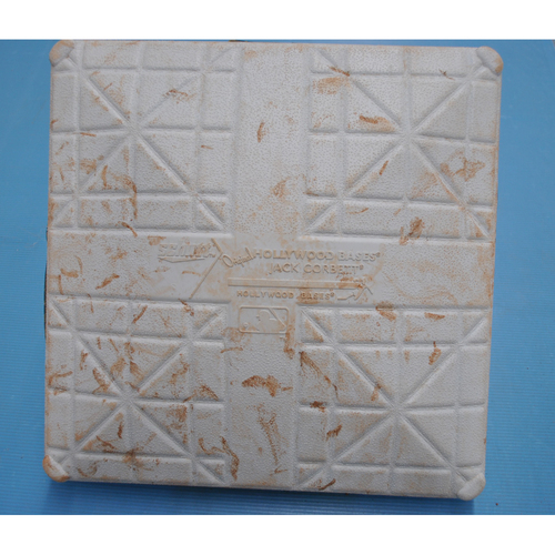 Photo of Game-Used Base - CHC at PIT - 9/24/2020 - 3rd Base, Innings 7-9, Final 2020 Home Game
